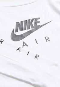 Nike Sportswear - TEE AIR CROP - Long sleeved top - white - 3