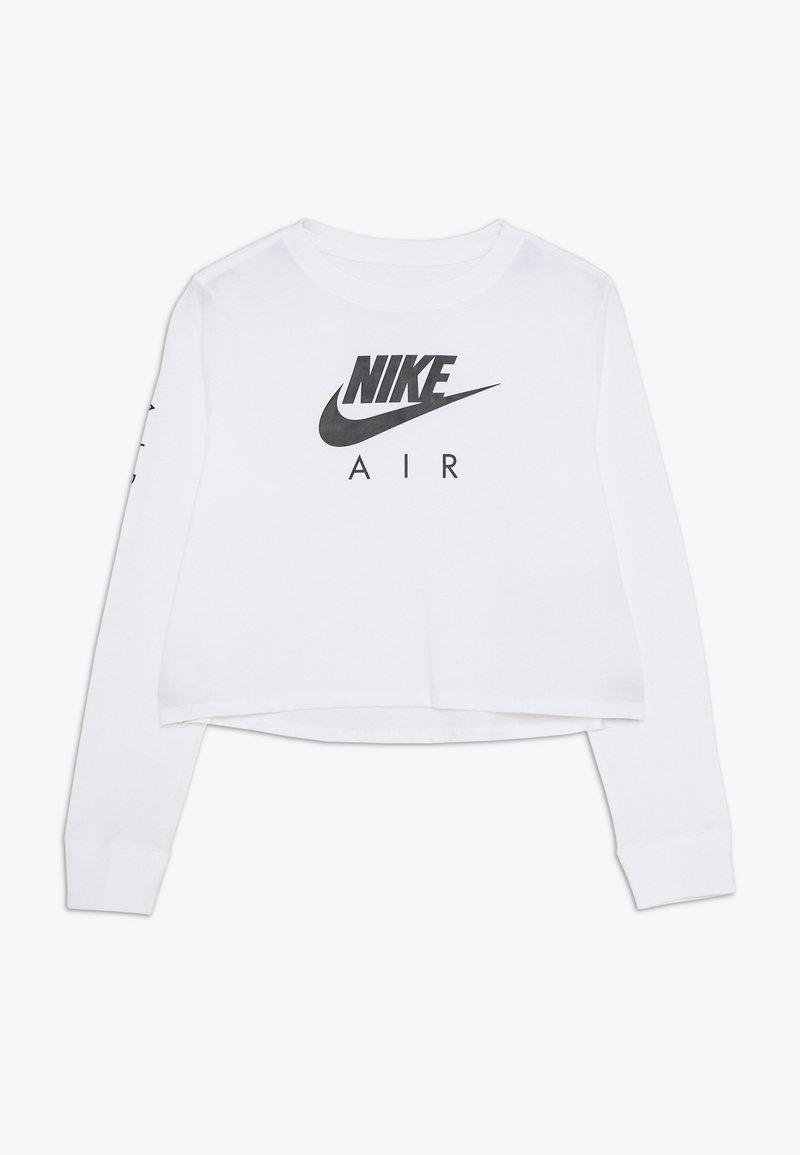Nike Sportswear - TEE AIR CROP - Long sleeved top - white