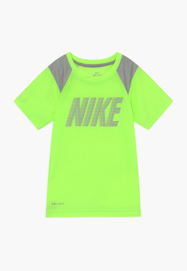 DOMINATE BLOCK - T-shirt print - ghost green