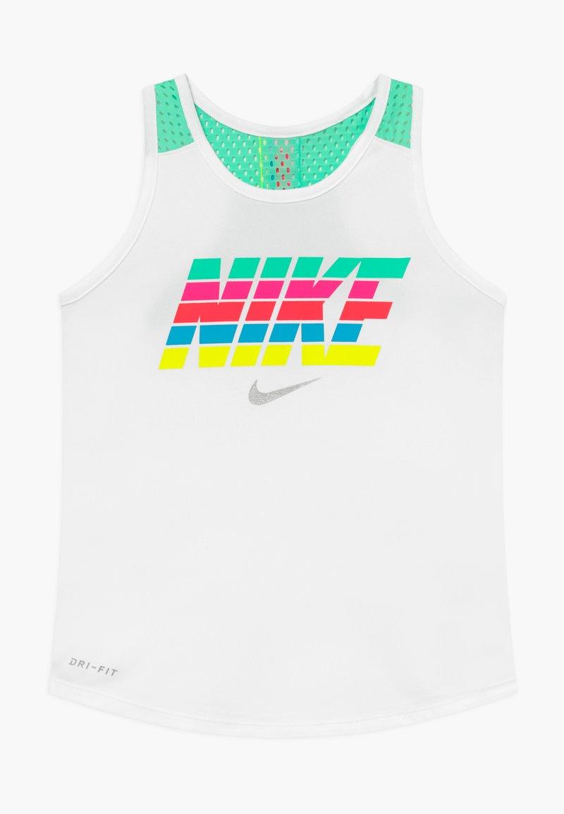 Nike Sportswear - RAINBOW TAKE TANK - Top - white