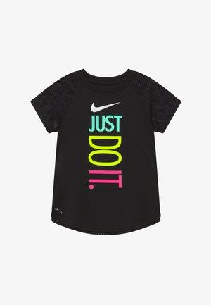 GIRLS ACTIVE - Camiseta estampada - black