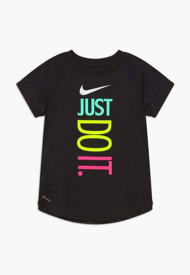 GIRLS ACTIVE - T-shirt print - black