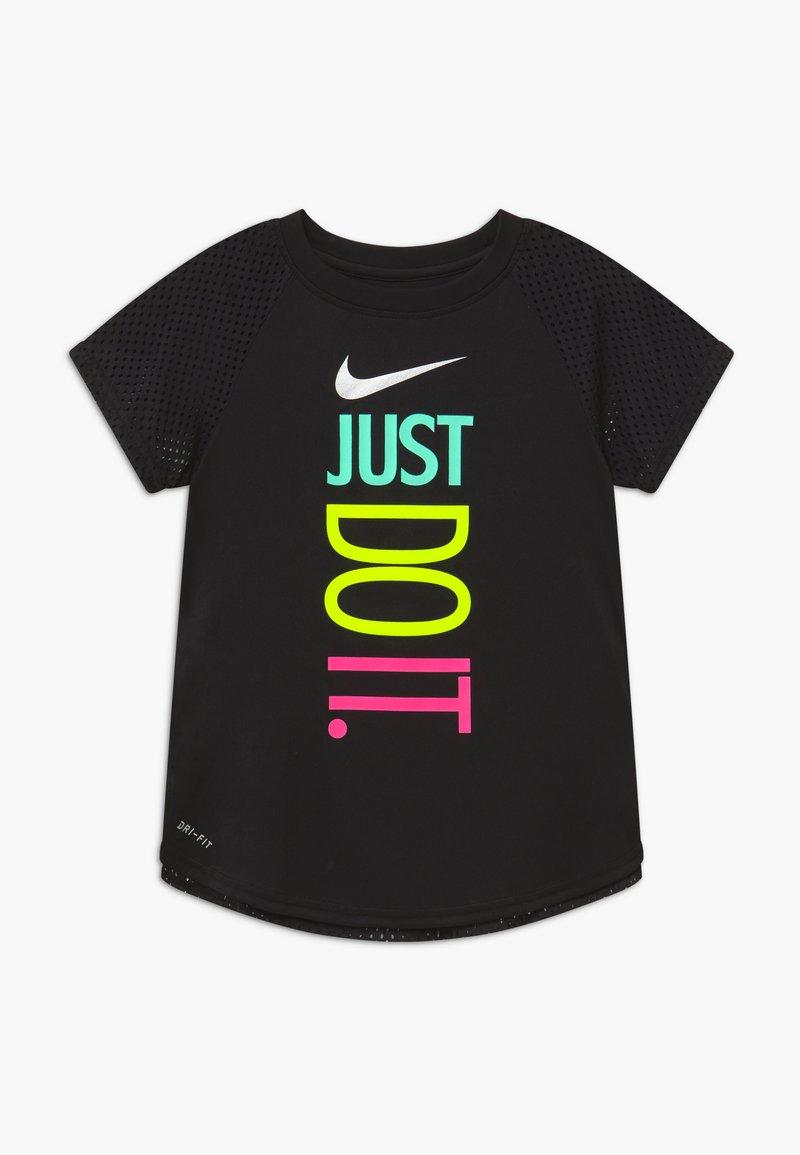 Nike Sportswear - GIRLS ACTIVE - T-shirt z nadrukiem - black