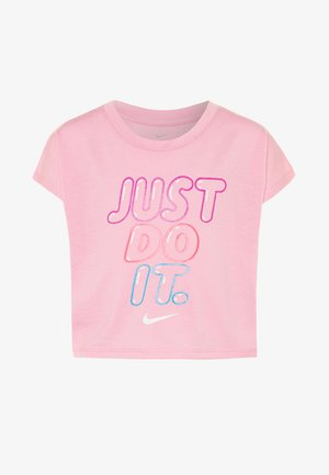 BUBBLE BOXY - T-shirt print - pink