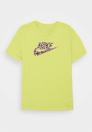 TEE - T-shirt imprimé - limelight/pink rise