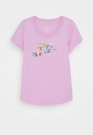 TEE DYE SCOOP FUTURA - T-shirt con stampa - arctic pink