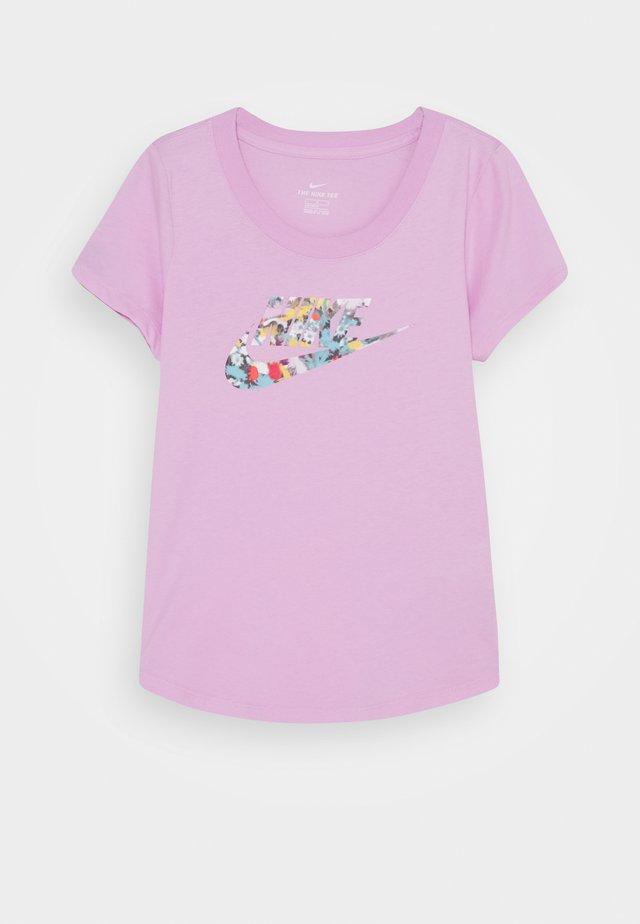 TEE DYE SCOOP FUTURA - Camiseta estampada - arctic pink