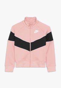 Nike Sportswear - HERITAGE  - Zip-up hoodie - bleached coral/black/white - 0