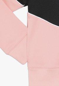 Nike Sportswear - HERITAGE  - Zip-up hoodie - bleached coral/black/white - 2