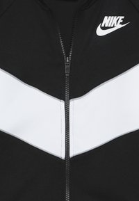 Nike Sportswear - HERITAGE  - Felpa aperta - black/white/wolf grey - 4