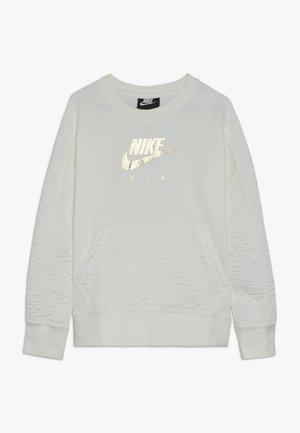 CREW - Sweatshirt - sail/metallic gold