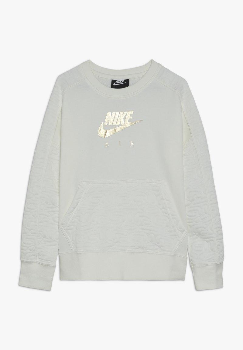 Nike Sportswear - CREW - Sweatshirt - sail/metallic gold