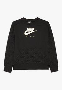 Nike Sportswear - CREW - Sweatshirt - black/metallic gold - 0