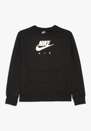 CREW - Sweatshirt - black/metallic gold