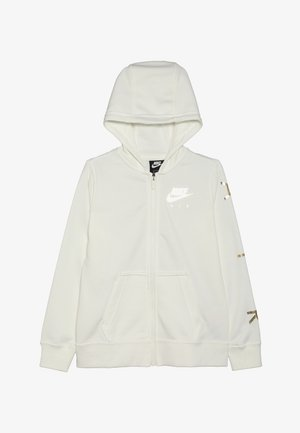 AIR - veste en sweat zippée - sail/metallic gold