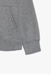Nike Sportswear - G NSW PE FULL ZIP - veste en sweat zippée - carbon heather/white - 2