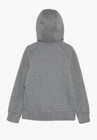 Nike Sportswear - G NSW PE FULL ZIP - veste en sweat zippée - carbon heather/white - 1