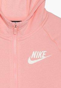 Nike Sportswear - Bluza rozpinana - bleached coral/white - 4