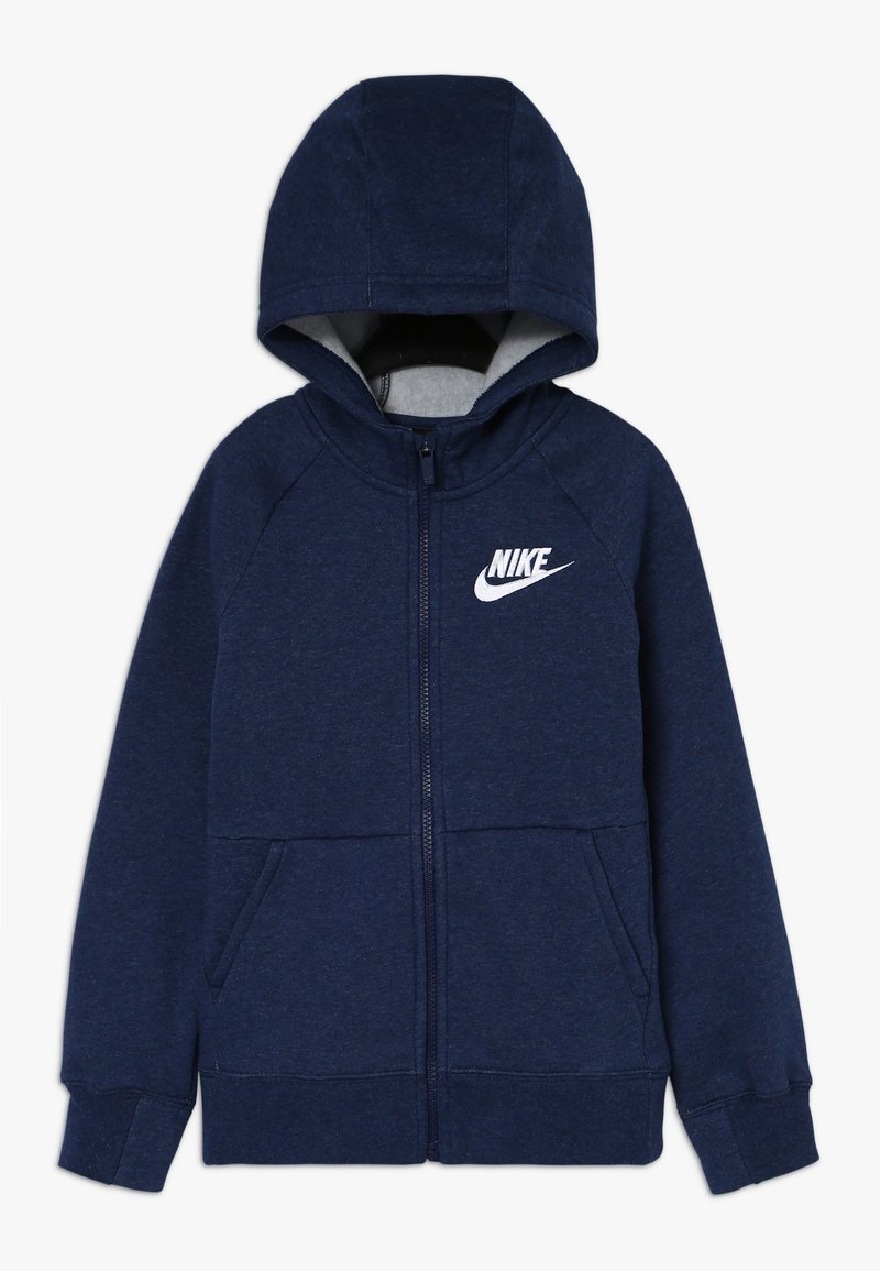 Nike Sportswear - FULL ZIP - Sweatjacke - blue void/heather/white