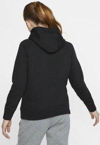 Nike Sportswear - G NSW PE FULL ZIP - Felpa aperta - black/white - 1