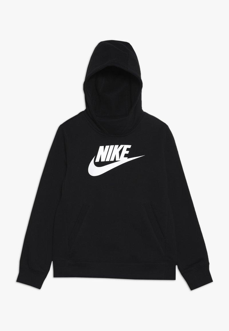 Nike Sportswear - Felpa con cappuccio - black/white
