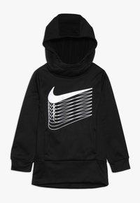 Nike Sportswear - THERMA - Bluza z kapturem - black - 0