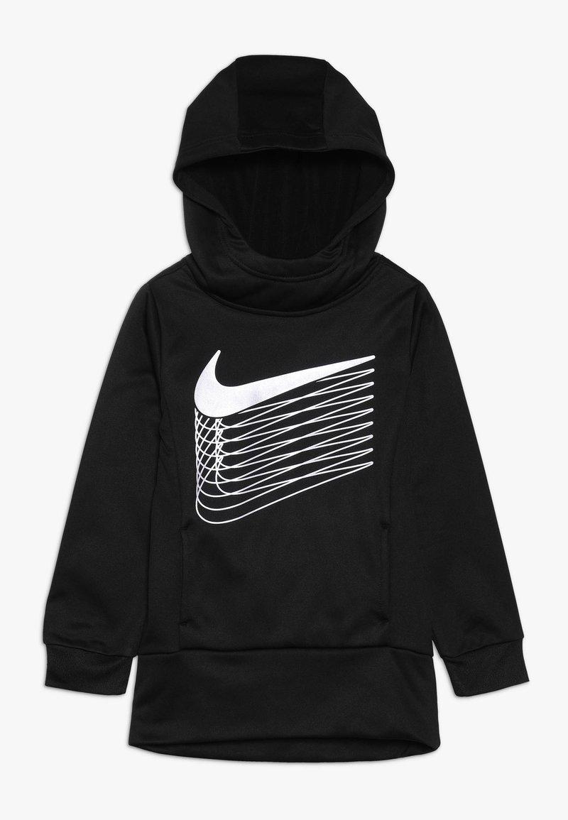 Nike Sportswear - THERMA - Bluza z kapturem - black