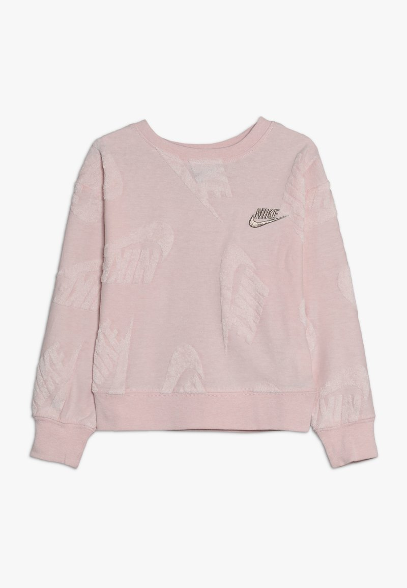 Nike Sportswear - FUTURA NOVELTY CREW - Long sleeved top - echo pink heather