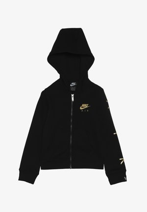 AIR FULL ZIP - Zip-up hoodie - black