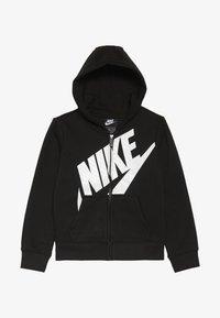 Nike Sportswear - FUTURA FULL ZIP HOODIE - Bluza rozpinana - black - 2