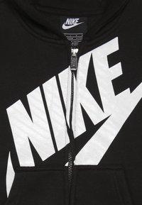 Nike Sportswear - FUTURA FULL ZIP HOODIE - Bluza rozpinana - black - 3