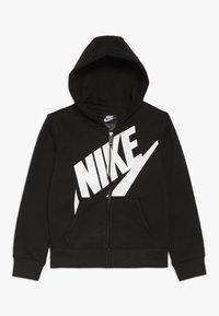 Nike Sportswear - FUTURA FULL ZIP HOODIE - Bluza rozpinana - black - 0