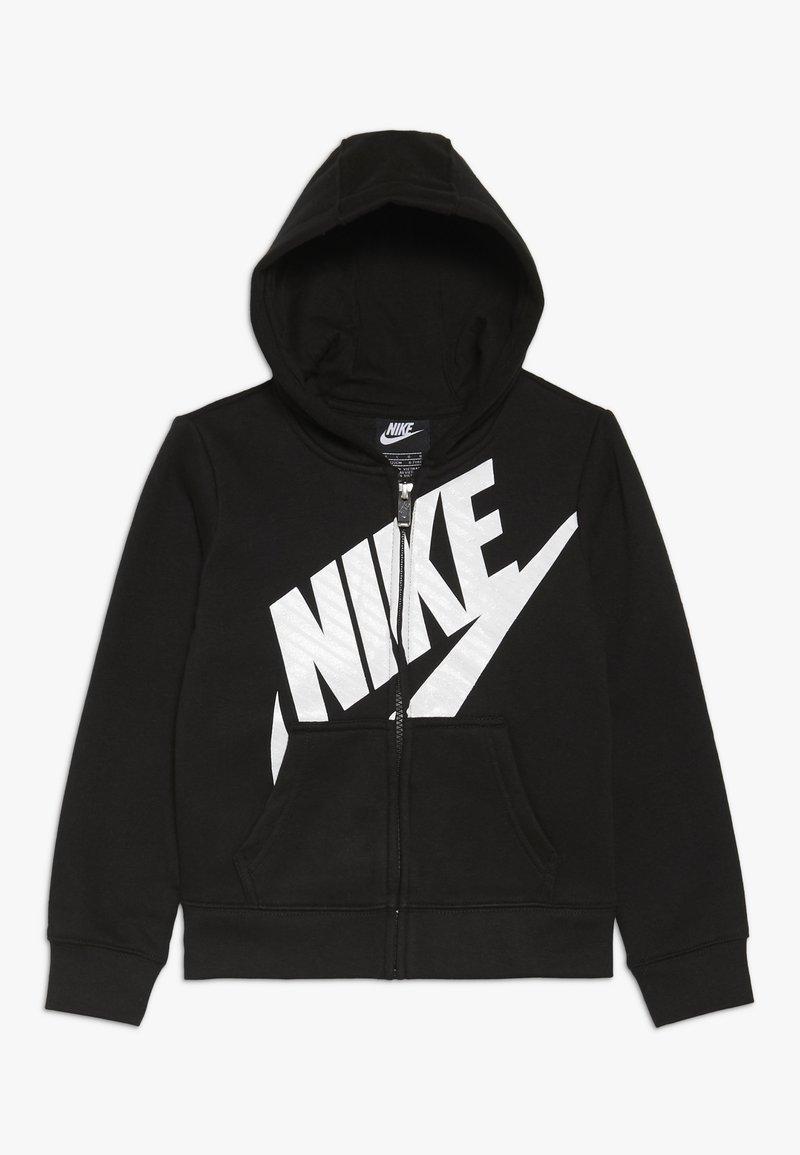 Nike Sportswear - FUTURA FULL ZIP HOODIE - Bluza rozpinana - black