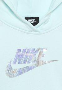Nike Sportswear - CROP - Hoodie - teal tint - 4