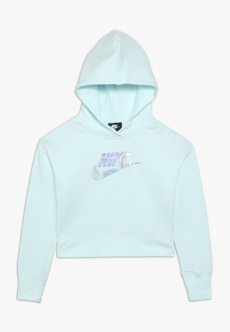 Nike Sportswear - CROP - Hoodie - teal tint