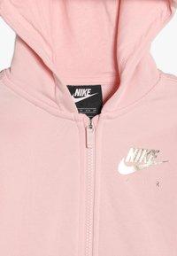 Nike Sportswear - AIR - Hoodie met rits - echo pink/metallic gold - 4