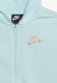 Nike Sportswear - AIR - Hoodie met rits - teal tint/metallic gold - 4