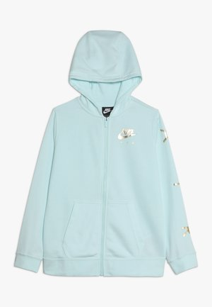 AIR - Sudadera con cremallera - teal tint/metallic gold