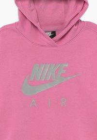 Nike Sportswear - NIKE AIR CROP HOODIE - Mikina skapucí - magic flamingo/smoke grey - 3