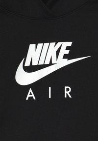 Nike Sportswear - NIKE AIR CROP HOODIE - Sweat à capuche - black/white - 3