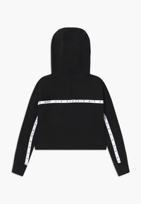 Nike Sportswear - NIKE AIR CROP HOODIE - Sweat à capuche - black/white - 1