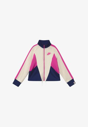 G NSW HERITAGE FZ - Veste de survêtement - orewood/blue void/fire pink