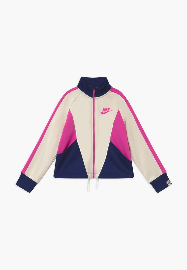 G NSW HERITAGE FZ - Training jacket - orewood/blue void/fire pink