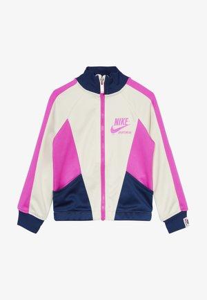 HERITAGE  - Trainingsvest - offwhite/dark blue/pink
