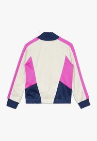 Nike Sportswear - HERITAGE  - Training jacket - offwhite/dark blue/pink - 1