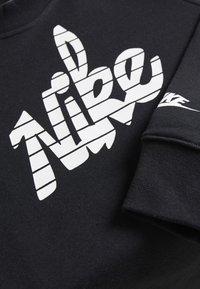 Nike Sportswear - CREW - Sweatshirt - black/white - 3