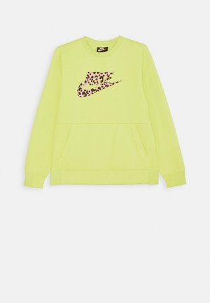 CREW PACK - Sweatshirt - limelight/pink rise