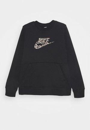 CREW PACK - Sweatshirt - black/fossil stone