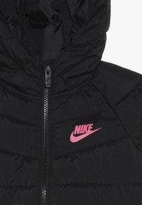 Nike Sportswear - FILLED JACKET - Giacca invernale - black/racer pink - 4