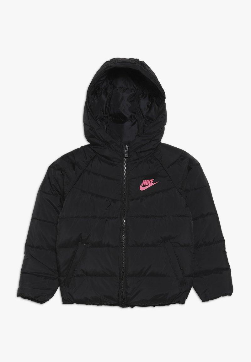 Nike Sportswear - FILLED JACKET - Talvitakki - black/racer pink